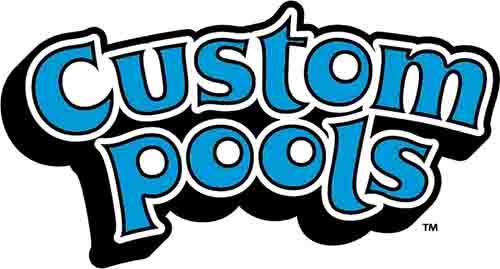 Custom Pools Logo